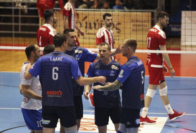 Volley League : Μπλόκο της Κηφισιάς στον Ολυμπιακό | tovima.gr