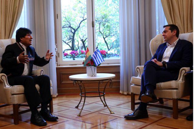 Τσίπρας: Με τη Βολιβία μας συνδέουν κοινές αξίες, αγώνες και ιδανικά | tovima.gr