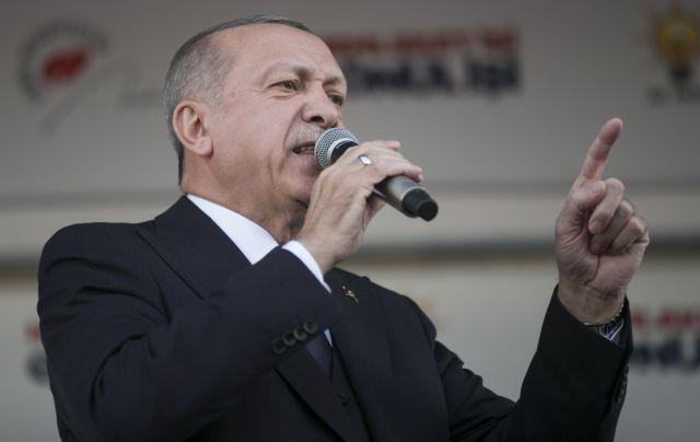 Ερντογάν: Οταν εσείς απογειώνετε αεροσκάφη στο Αιγαίο θα απογειώνουμε και εμείς | tovima.gr