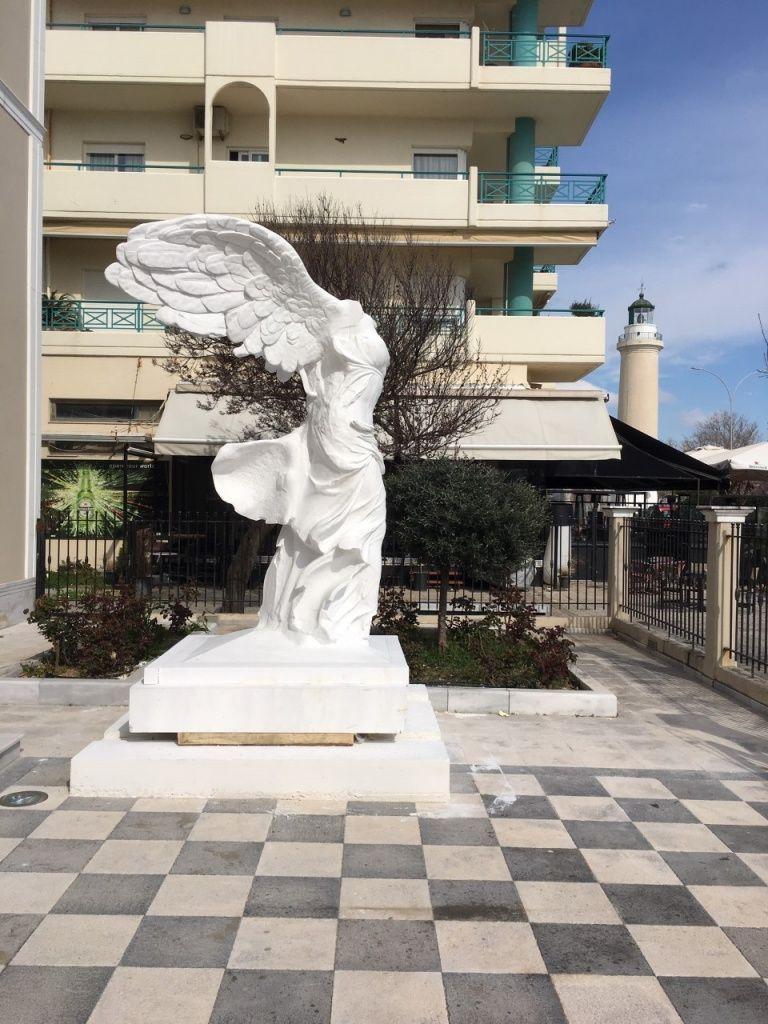 Νίκη της Σαμοθράκης : Πιστό αντίγραφο στην Αλεξανδρούπολη | tovima.gr