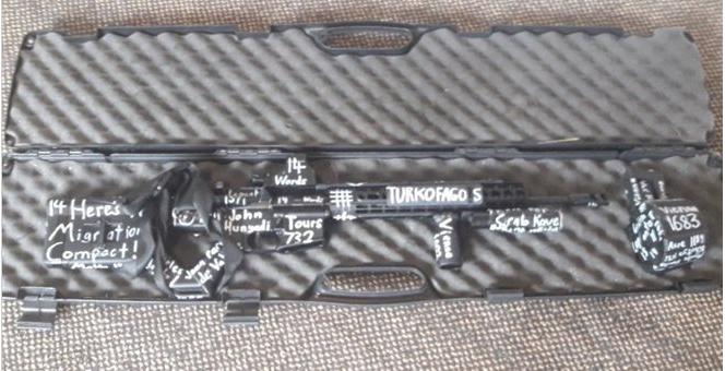 Νέα Ζηλανδία : Ερωτηματικά από την επιγραφή «Τουρκοφάγος» στο όπλο του μακελάρη | tovima.gr