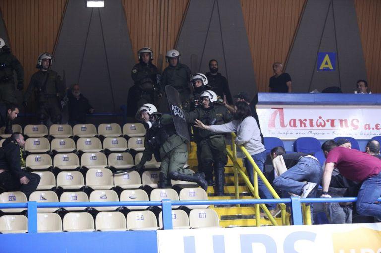 Περιστέρι – Αρης: Αυτά γράφει το φύλλο αγώνα για τη διακοπή   tovima.gr