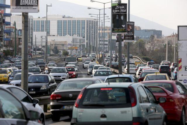 Κυκλοφοριακό χάος στο κέντρο της Αθήνας και στον Κηφισό   tovima.gr