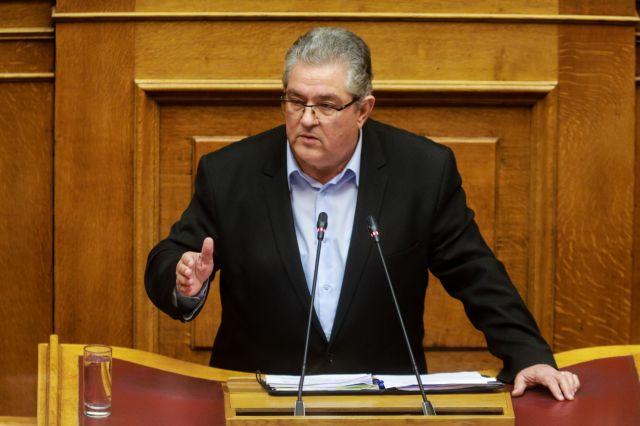 Κουτσούμπας: Η κυβέρνηση δένει τη χώρα πιο σφιχτά στο άρμα του ΝΑΤΟ | tovima.gr