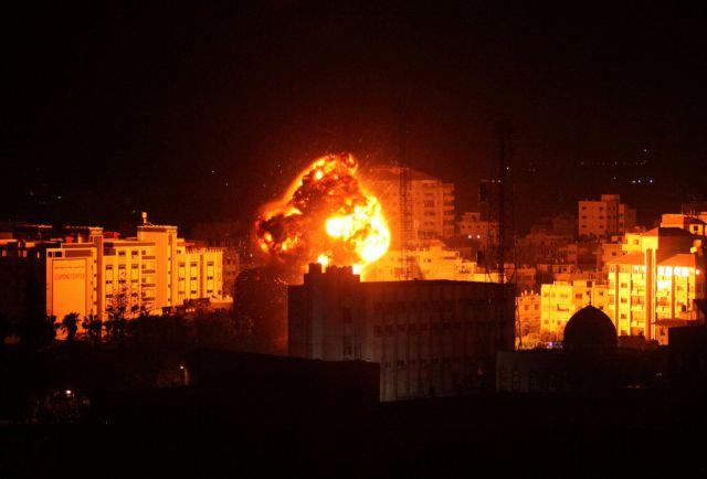 Λωρίδα της Γάζας: Ισραηλινοί βομβαρδισμοί | tovima.gr