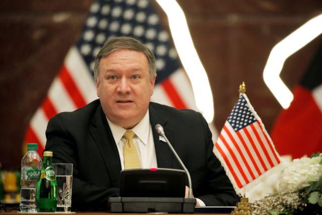 Πομπέο: Στρατηγικού χαρακτήρα η συνεργασία Ελλάδας-ΗΠΑ | tovima.gr