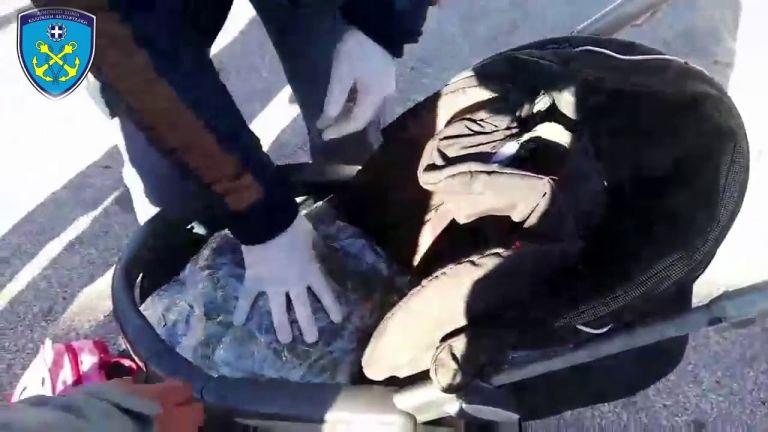Μυτιλήνη: Μετέφερε πάνω από 1 κιλό κάνναβης σε παιδικό καροτσάκι | tovima.gr