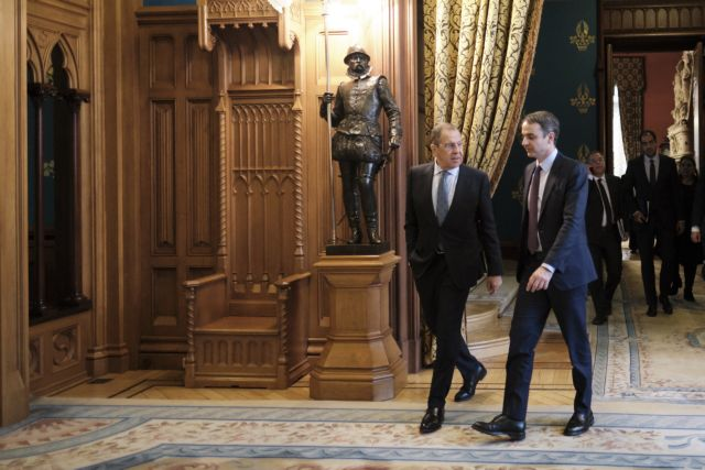 Mitsotakis meets Medvedev, Lavrov in Moscow | tovima.gr