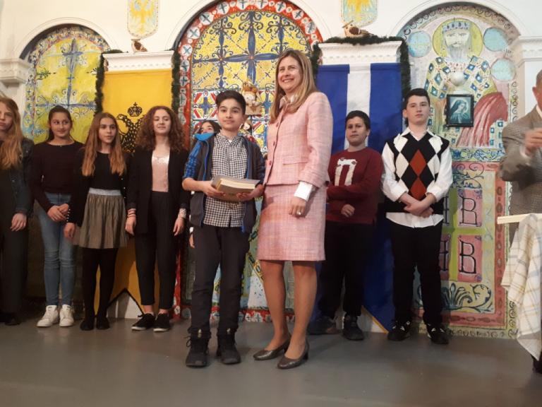 Με δωρεά του Βαγγέλη Μαρινάκη οι βραβεύσεις μαθητών στην Πολιτιστική Ένωση Περάματος | tovima.gr