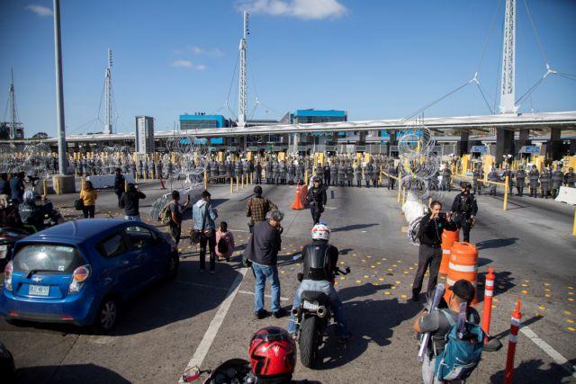 Νέες απειλές Τραμπ για κλείσιμο των συνόρων με το Μεξικό | tovima.gr