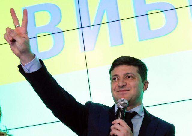 Εκλογές Ουκρανία: Ο κωμικός Ζελένσκι κέρδισε τον πρώτο γύρο | tovima.gr