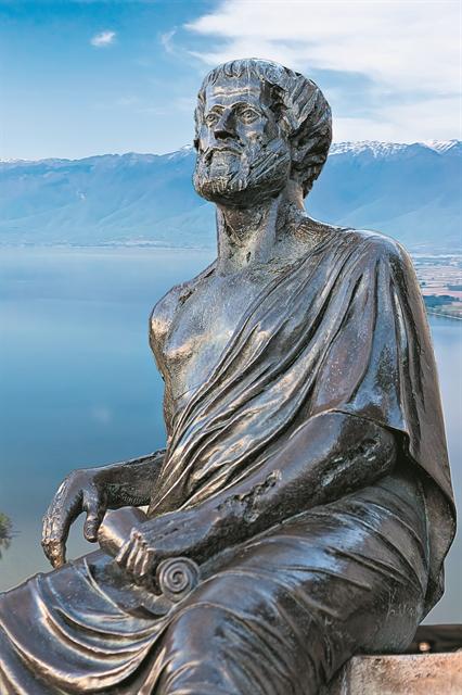 O Αριστοτέλης μελετά την τέχνη του δημόσιου λόγου   tovima.gr