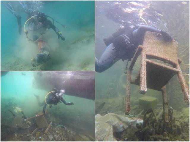 Εθελοντές δύτες καθαρίζουν τους βυθούς – χωματερές | tovima.gr