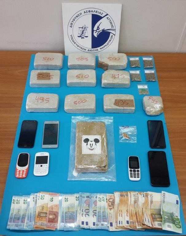Τρεις συλλήψεις για διακίνηση ναρκωτικών στο κέντρο της Αθήνας | tovima.gr