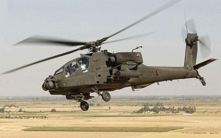 Ελικόπτερο Απάτσι έκανε αναγκαστική προσγείωση στα Φάρσαλα | tovima.gr