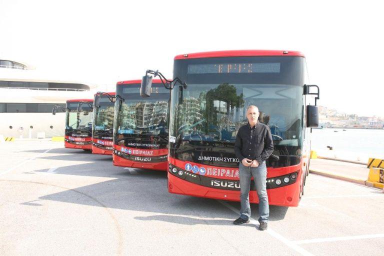 Δήμος Πειραιά: Νέα σύγχρονα λεωφορεία Δημοτικής Συγκοινωνίας | tovima.gr