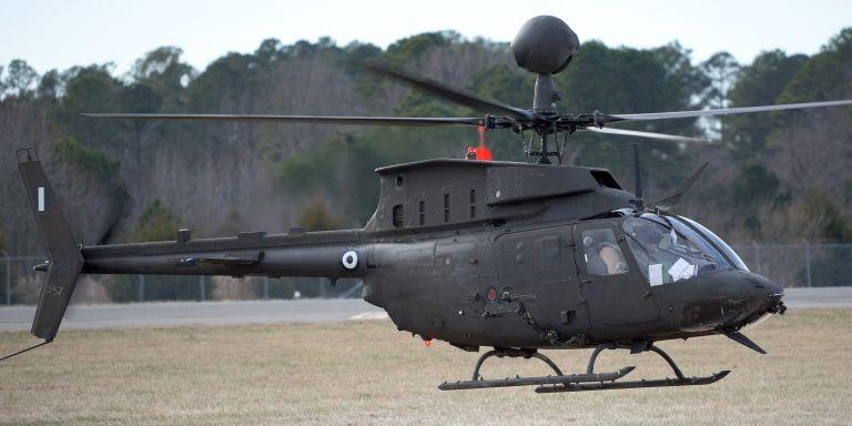 Με ελληνικό εθνόσημο τα ελικόπτερα Kiowa warrior | tovima.gr