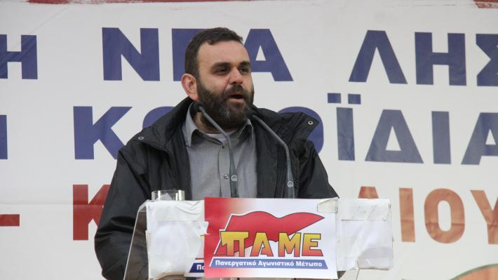Μέλος του ΠΑΜΕ για Συνέδριο ΓΣΕΕ: Απαγορευόταν η είσοδος σε κάθε αντιπρόσωπο με μπράβους | tovima.gr