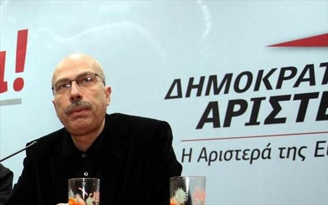 Μαργαρίτης: Ιταμή η επιλογή προσχώρησης της ΔΗΜΑΡ στον ΣΥΡΙΖΑ | tovima.gr