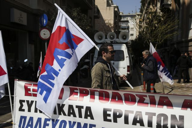 Θεσσαλονίκη: Ένταση στο ΕΚ μεταξύ προέδρου και μελών του ΠΑΜΕ | tovima.gr