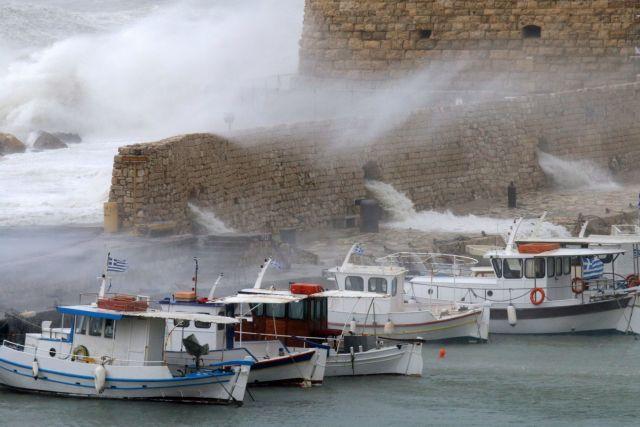 Κακοκαιρία Κρήτη: Σε κατάσταση έκτακτης ανάγκης Σητεία, Φαιστός, Ιεράπετρα | tovima.gr