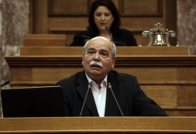 Βούτσης: Υπάρχει ηθικό και πολιτικό ζήτημα σε διεκδικήσεις αναδρομικών από πρώην βουλευτές | tovima.gr