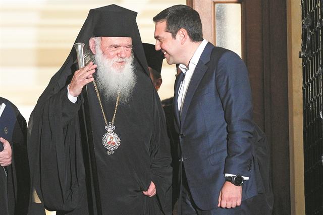«Διαζύγιο» Τσίπρα – Ιερώνυμου | tovima.gr