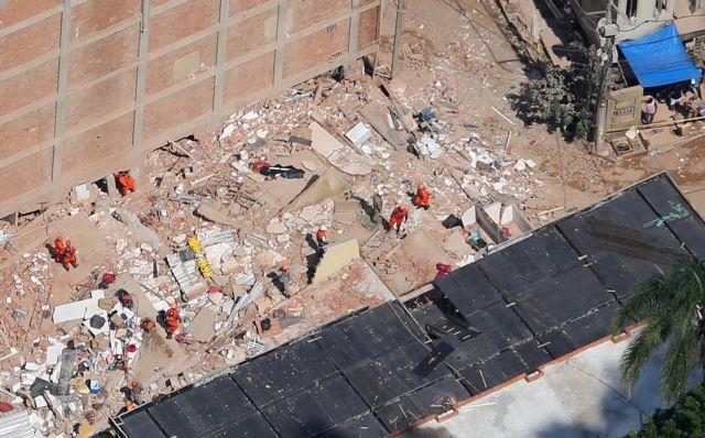 Ρίο ντε Τζανέιρο: Κατάρρευση κτιρίων με νεκρούς   tovima.gr