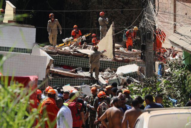 Βραζιλία: Αυξάνεται ο αριθμός των νεκρών από την κατάρρευση κτιρίων σε φαβέλα | tovima.gr
