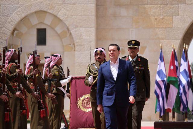Τσίπρας: Η συνεργασία Ελλάδας-Κύπρου-Ιορδανίας ενδυναμώνει τη σταθερότητα | tovima.gr