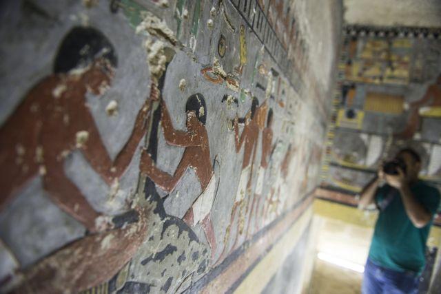 Αιγυπτος: Στο φως ταφικός θάλαμος 4.000 ετών (Εικόνες)   tovima.gr