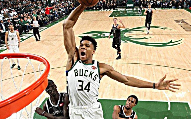 Top 5 NBA: Έκανε το «1-2» ο Γιάννης (vid) | tovima.gr