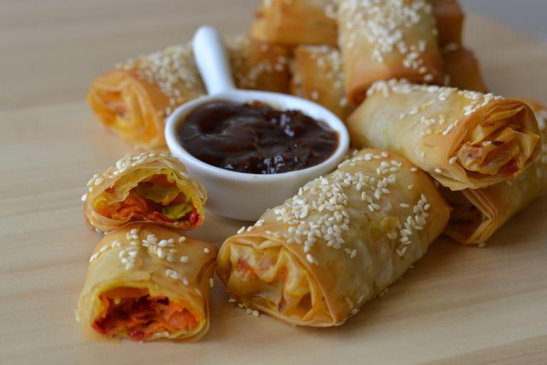 Ψητά spring rolls | tovima.gr