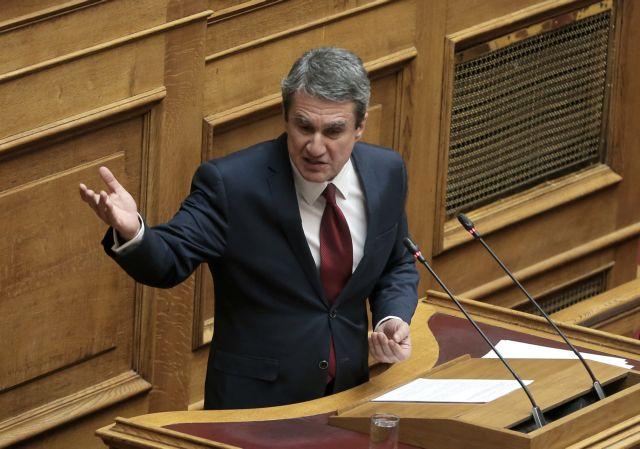Λοβέρδος : Πολιτική πλεκτάνη και πολιτικοί κακοποιοί στην υπόθεση Novartis | tovima.gr