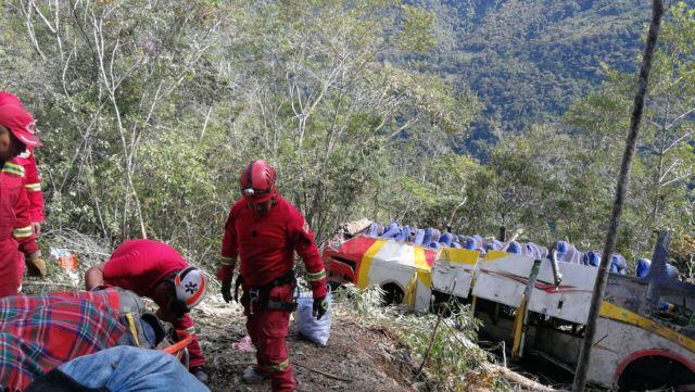 Βολιβία: Νεκροί από πτώση λεωφορείου σε χαράδρα | tovima.gr
