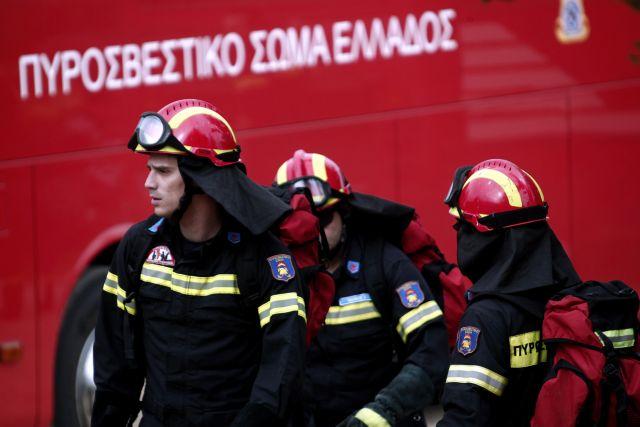 Πυρκαγιά σε κτίριο στα Εξάρχεια | tovima.gr