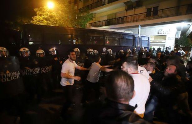 Θεσσαλονίκη: Επεισόδια στην πορεία για την Γενοκτονία των Αρμενίων | tovima.gr