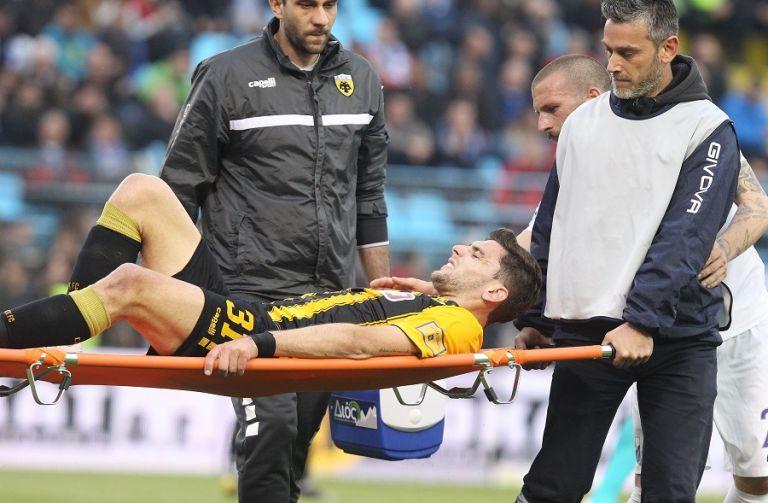 Τραυματίστηκε ο Μπογέ στη Λαμία, αγωνία στην ΑΕΚ   tovima.gr