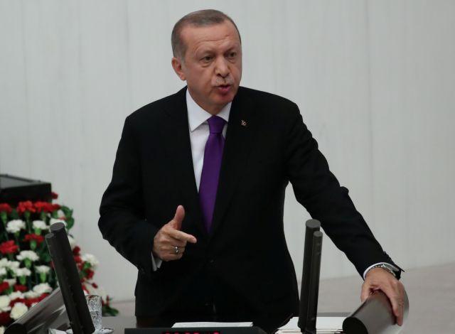 Ερντογάν: Οσοι προσπαθούν να μας αποκλείσουν από το πρόγραμμα των F-35 δεν το έχουν σκεφτεί καλά | tovima.gr