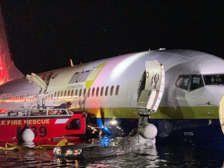 ΗΠΑ: Πτήση τρόμου για 143 επιβάτες – Πώς κατέληξε το Boeing 737 σε ποτάμι | tovima.gr