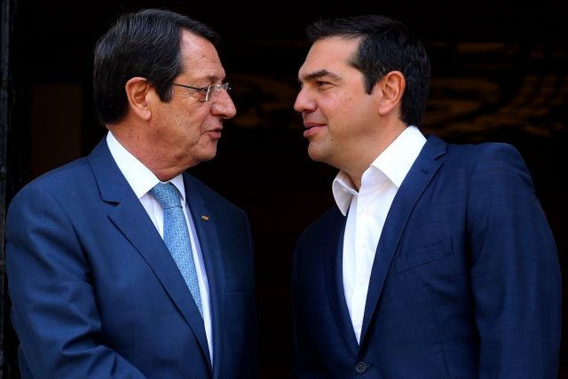 Τσίπρας-Αναστασιάδης συζήτησαν για την τουρκική προκλητικότητα στην κυπριακή ΑΟΖ | tovima.gr