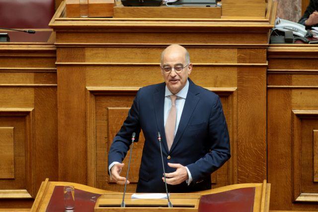 Δένδιας : Θα ήταν πιο αντρίκειο αν ο Πολάκης ζητούσε συγγνώμη από τον Κυμπουρόπουλο | tovima.gr
