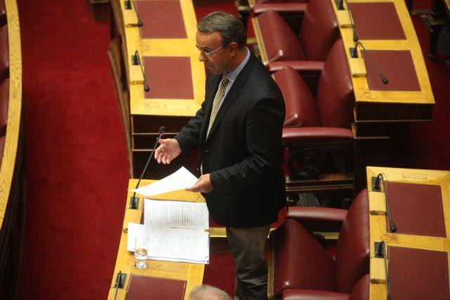 Σταϊκούρας : Ο Τσίπρας πανηγυρίζει, αλλά οι ληξιπρόθεσμες οφειλές του Δημοσίου αυξάνονται | tovima.gr