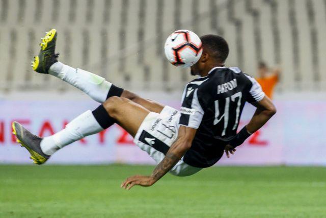 Γκολ με ανάποδο ψαλιδάκι του Άκπομ: 1-0 ο ΠΑΟΚ | tovima.gr