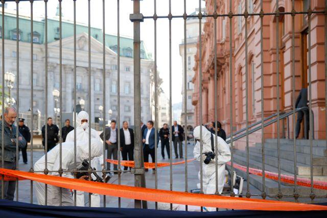 Απειλή για βόμβα στο γραφείο του Προέδρου της Αργεντινής | tovima.gr