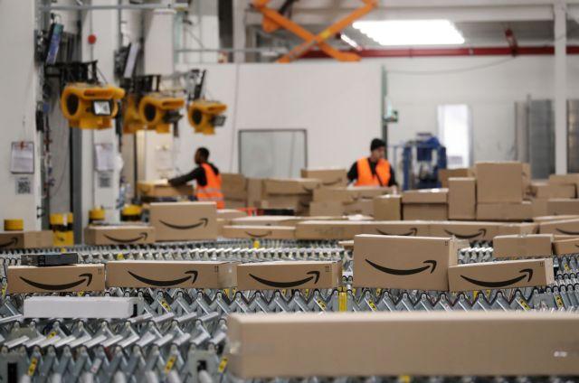 Επενδύει στα… μηχανήματα η Amazon | tovima.gr