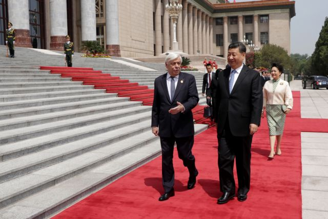 Pavlopoulos stresses threat to Cyprus in talks with Xi Jinping | tovima.gr