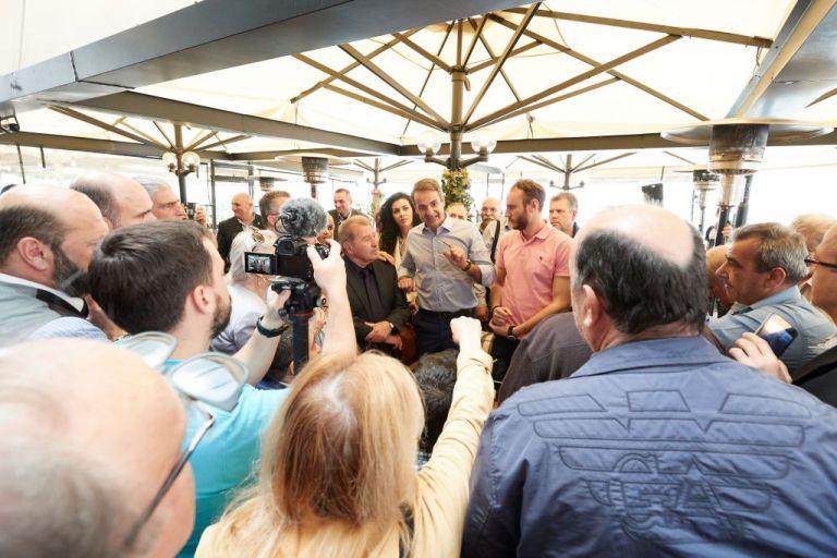Μητσοτάκης στον Κορυδαλλό: Δεν θέλω να είστε αντιΣΥΡΙΖΑ, ελάτε στη ΝΔ   tovima.gr