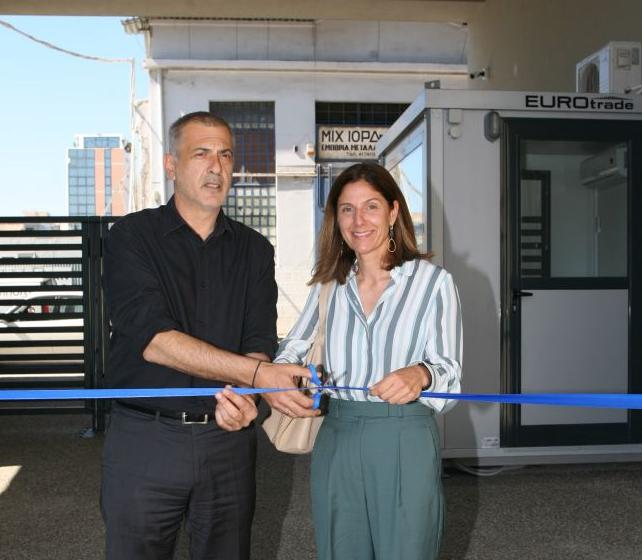 O Γ. Μώραλης εγκαινίασε νέο κτίριο στις πρώην εγκαταστάσεις της καπνοβιομηχανίας Παπαστράτος | tovima.gr