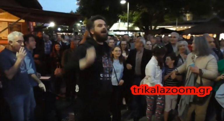Αποδοκιμασίες κατά του Αλέξη Τσίπρα στα Τρίκαλα | tovima.gr